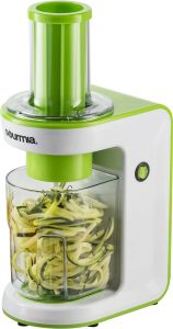 Gourmia GES580 Electric Spiralizer with 3 Blades