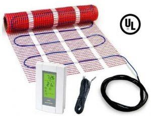 HeatTech 70 sqft 120-V Radiant Floor Heating Mat