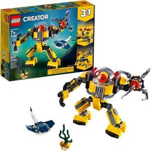 LEGO Creator 3-in-1 Underwater Robot 31090 Building Kit