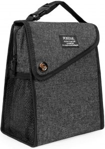 LOKASS Water-resistant Freezable Lunch Bag for Women