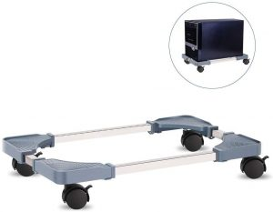 Liitrton Adjustable Computer Tower Stand with 4 Caster Wheels