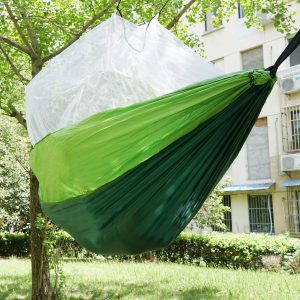 Share Maison Indoor Outdoor Hammock with Mosquito Bug Net
