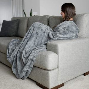 GRACED SOFT LUXURIES Throw Blanket