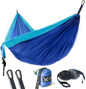 WINNER OUTFITTERS Nylon Portable Hammock Beach Resort