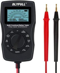 X-cosrack Digital 12V 3.7V Li-ion Battery Tester for All batteries
