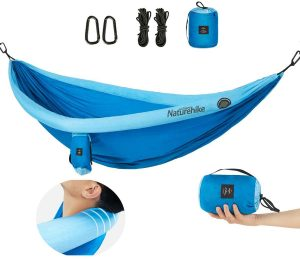 YAHILL Inflatable Hammock Beach Resort with Tree Straps for 2 Person