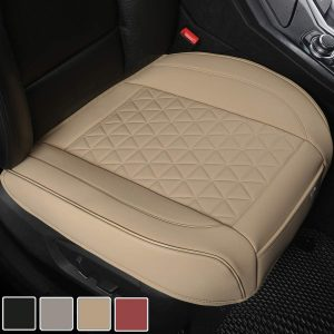 Black Panther Luxury PU Leather Car Seat Cover Protector