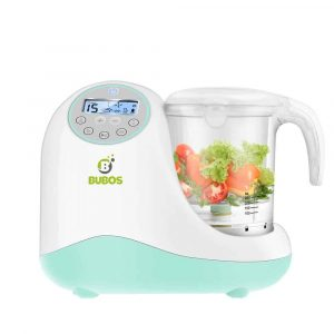 Bubos 5-in-1 Smart Baby Food Maker w/LCD Display