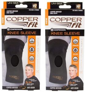 Copper Fit Pack of Two Original Recovery Knee Sleeve