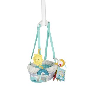Evenflo Sweet Skies Door Jumper with 4 Removable Toys