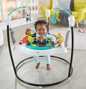 Fisher-Price White Animal Wonders Baby Door Jumper