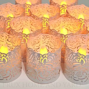 Frux Home and Yard Votive Candle Holders