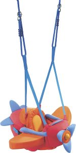 HABA Indoor Mounted Baby Swing with Adjustable Straps