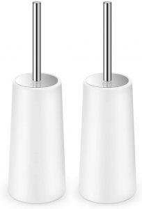 IXO Elegant Ergonomic Toilet Brush with Holder