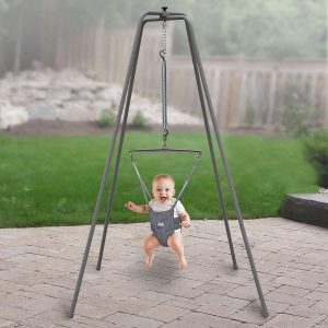 Jolly Jumper Baby Exerciser with Super Stand for Active Babies