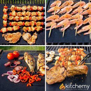 Kitchemy Dishwasher Safe BBQ Grill Mat