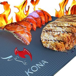Kona Heavy Duty 600 Degree Non-Stick BBQ Grill Mat
