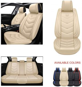 OASIS AUTO OS-003 Leather Car Seat Covers