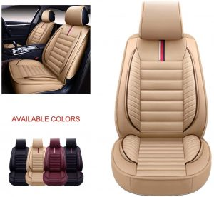 OASIS AUTO OS-009 Leather Car Seat Covers