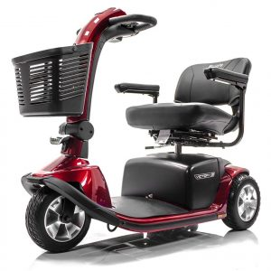 Pride Victory Red 10 3-Wheel Electric Scooter