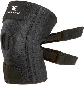 Thx4COPPER Joint Pain Relief Knee Brace Support for Arthritis Tendonitis