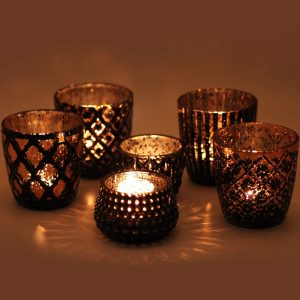 Vinnet Beauty Votive Candle Holders Set