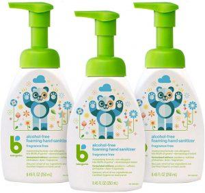Babyganics Foaming Alcohol-Free Hand Sanitizer, 3 Pack