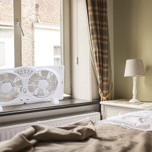 Genesis Twin Window Fan