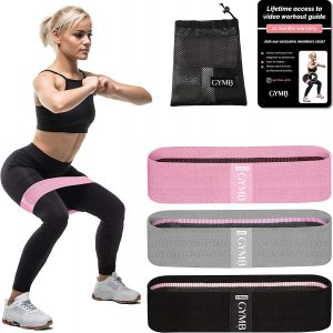 Gymbee Booty 3 Exercise Resistance Loop Bands