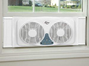 JPOWER 9 Inch Twin Window Fan