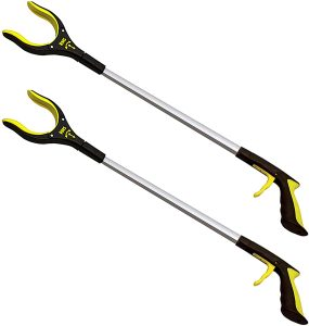 RMS Royal Medical 32 Inch 2-Pack Extra Long Reacher Grabber Assist Tool