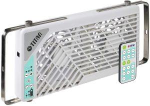 TITAN Double Reversible Window fan