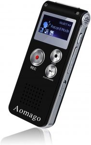 Aomago Voice Activated Recorder for Lectures