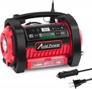 Avid Power Tire Inflator Air Compressor