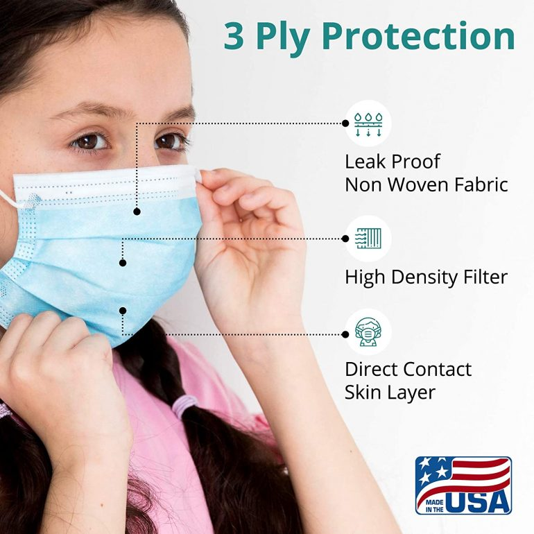 Disposable Face Masks for Adults