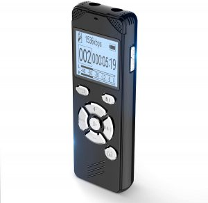 EVIDA Voice Activated Recorder