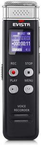 EVISTR 16GB Digital Voice Activated Recorder