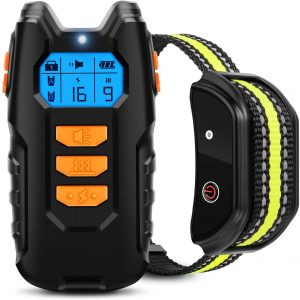 Flittor Dog Training Collar with Remote - 3 Training Modes