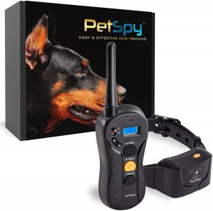 PetSpy P620 Dog Training Collar - Rechargeable & Waterproof