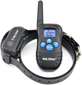 Petrainer Dog Shock Collar with 3 Safe Corrections
