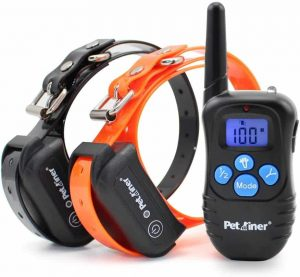 Petrainer Dogs' Shock Collar - Waterproof and Rechargeable