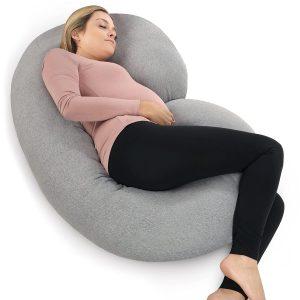 PharMeDoc Pregnancy Pillow, C Shaped Full Body Pillow