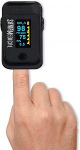 Santamedical OLED Pulse Oximeter Fingertip Dual Color