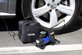 portable air pump for car tires