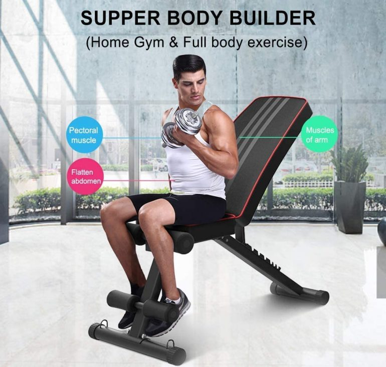 utility Weight Bench for full body workout
