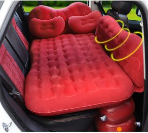 CALOER Thickened Inflatable Car Air Mattress Bed