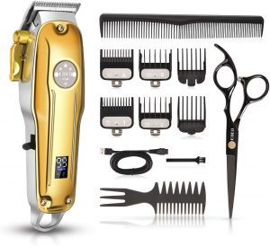 CIICII Professional Hair Clippers Trimmer Set