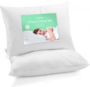 Celeep Hypoallergenic Queen Bed Pillows for Sleeping