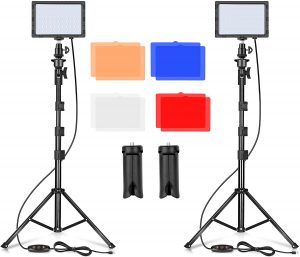 Emart Portable LED Light Photography Studio with colors