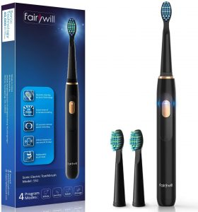 Fairywill D1 Sonic Electric Toothbrush Rechargeable for Kids